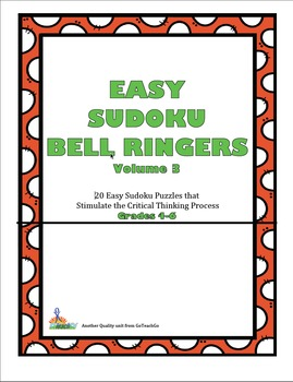 Easy Sudoku Bell Ringers -Vol.3  20 Easy Puzzles To Stimul