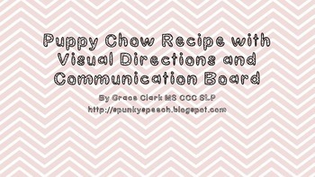 Easy and Fun Puppy Chow Recipe with Visuals and Communicat