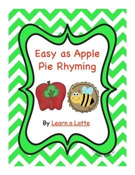 Easy as Apple Pie Rhyming