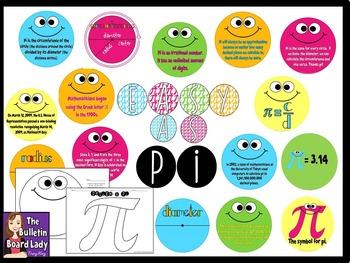 Pi Day Math Bulletin Board