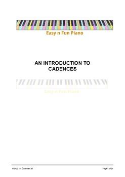 Easy 'n' Fun: Cadences