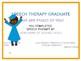 Easybee Speech Therapy Certificates!