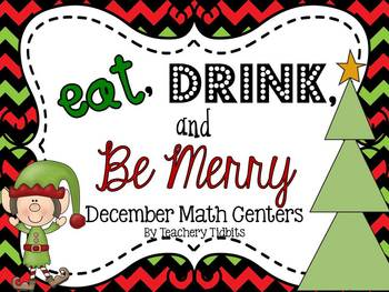 Eat, Drink, and Be Merry Math Centers