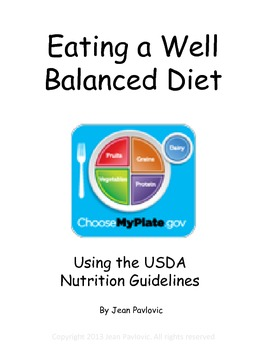 Eating a Well Balanced Diet