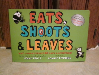 Eats, Shoots & Leaves NEW Hardcover Book by Lynne Truss
