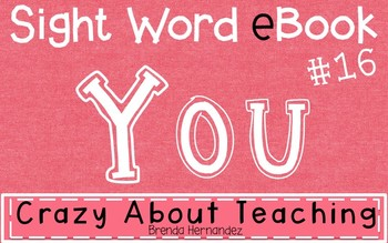Ebook-Sight Word 'You'