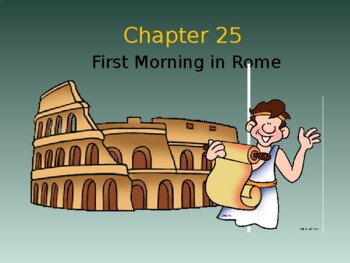 Ecce Romani I Chapter 25 Vocabulary PowerPoint