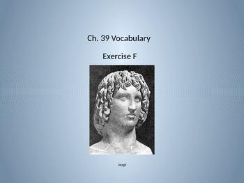 Ecce Romani II Ch. 39 Exercise F Vocabulary