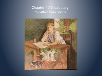 Ecce Romani II Ch. 40 Vocabulary