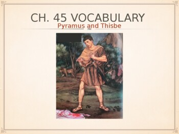 Ecce Romani II Chapter 45 Vocabulary PowerPoint