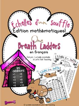 Échelles d'un souffle - Addition Facts from 1-10 (One Brea