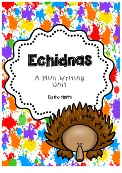 Echidna Mini Writing Unit