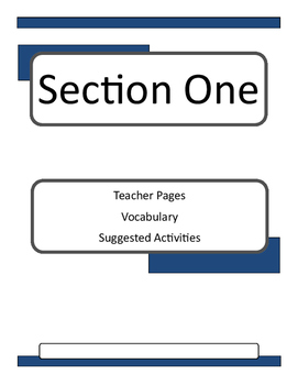 Echo Novel Unit and Lesson Plans