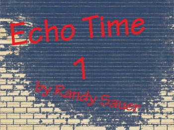 Echo Time 1 (Video)