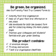 Eco-Friendly Field Trip Consent Forms