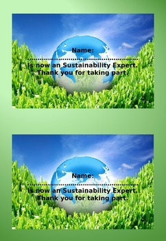 Eco course completion certificate templates.