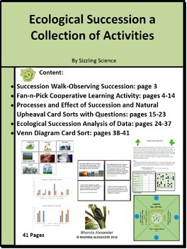 Ecological Succession a Collection of Activities