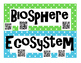Ecology INTERACTIVE Word Wall