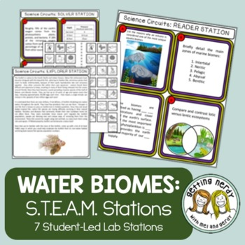 Ecology - Science Centers / Lab Stations - Aquatic Biomes