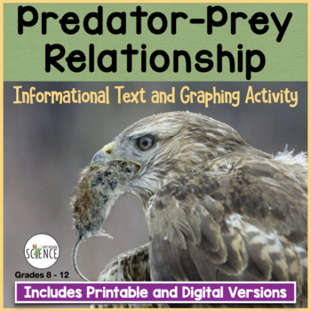 ecology predator prey relationship by amy brown science teachers pay teachers. Black Bedroom Furniture Sets. Home Design Ideas
