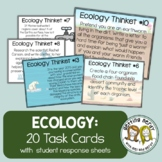 Ecology - Task Cards - Science  Warm Ups & Exit Tickets