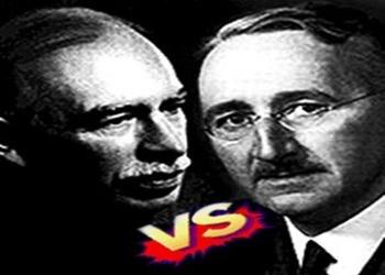 "Econ Stories' ""Fight of the Century: Keynes vs. Hayek Roun"