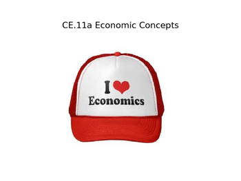 Economic Concepts Power Point (CE.11a)