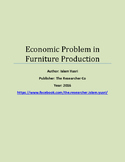 Economic Problem in Furniture Production