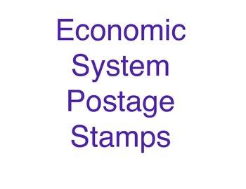 Economic System Postage Stamps
