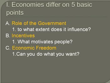 Economic Systems Debate Lesson Plan - Capitalism, Socialis