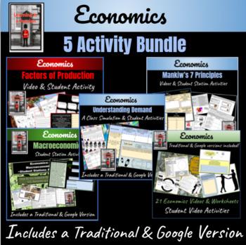Economics 5 Lesson Bundle
