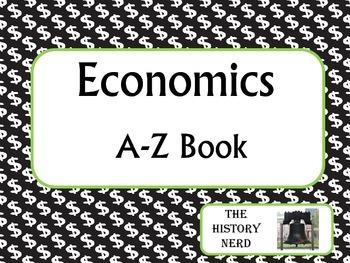 Economics A-Z Book