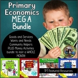 Primary Economics on Community Helpers, Goods and Services
