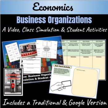 Economics: Business Organization Student Activity
