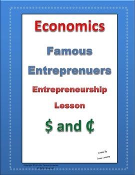 Economics Entrepreneurship Famous Entrepreneurs Grades 3-6