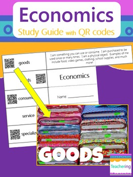 Economics Study Guide with QR Codes