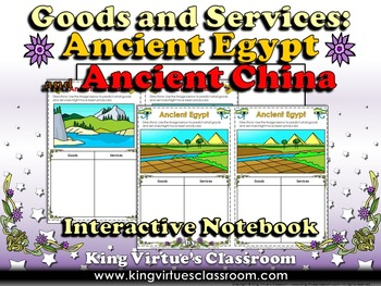 Economics: Goods and Services Ancient Egypt China Interact