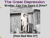 Economics - Great Depression