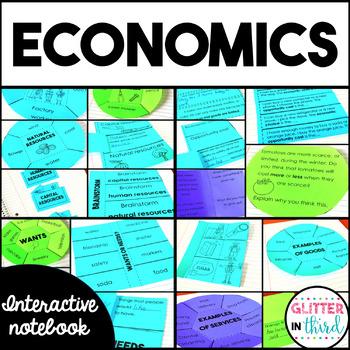 Economics - Social Studies Interactive Notebook