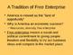 Economics PPT - The American Free Enterprise System