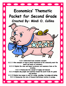 Economics' Packet for Second Grade