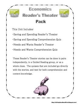 Economics Reader's Theater Pack K-2