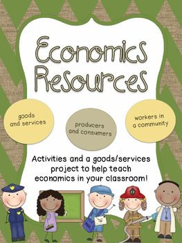Economics Unit- Resources and Market Day Project