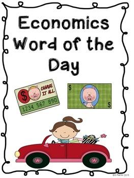 Economics Word of the Day