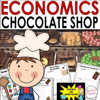 PROJECT BASED LEARNING ECONOMICS: CHOCOLATE SHOP With ELA