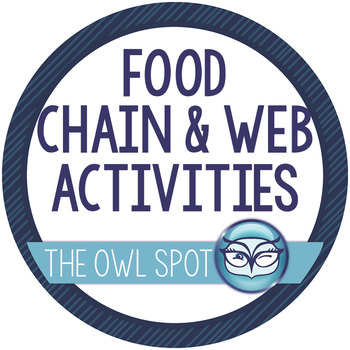 Ecosystem Menu: Food Chain and Food Web Activities