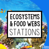 Ecosystems and Food Webs Stations: A Big Science Stations Unit