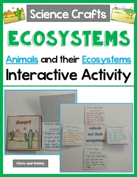 Ecosystems - Animals and their Ecosystems Activity - Scien