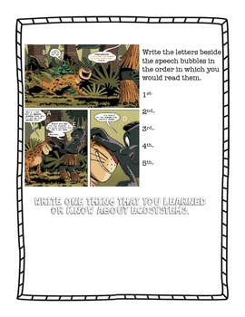 Ecosystems Graphic Novel Assessment