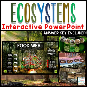 Ecosystems Interactive PowerPoint